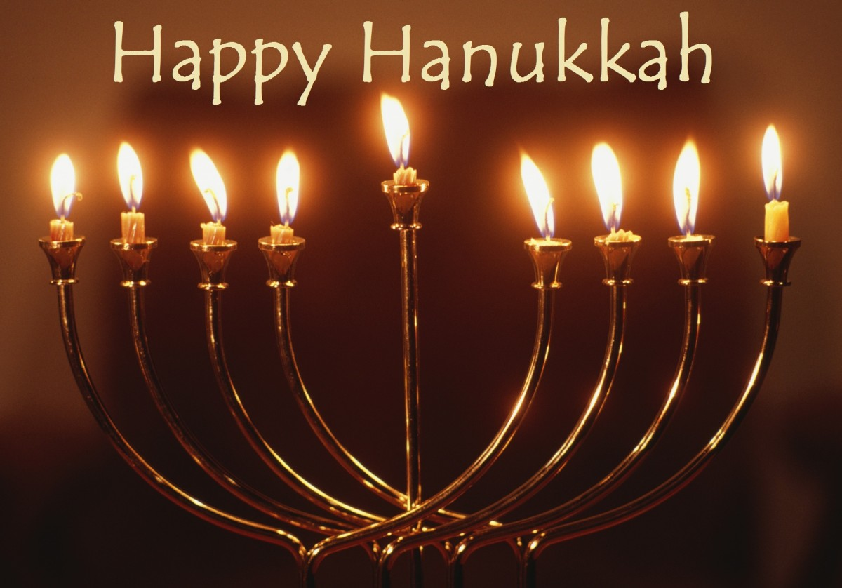 Joyous Hanukkah! Let's Celebrate!